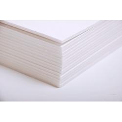 Carton mousse 3mm Blanc