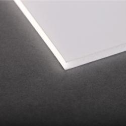 Carton mousse 5mm Blanc