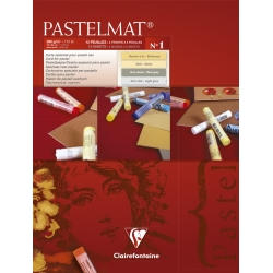 Bloc Pastelmat n°1 12F 360g