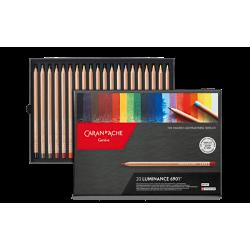 Boîte 20 crayons LUMINANCE...